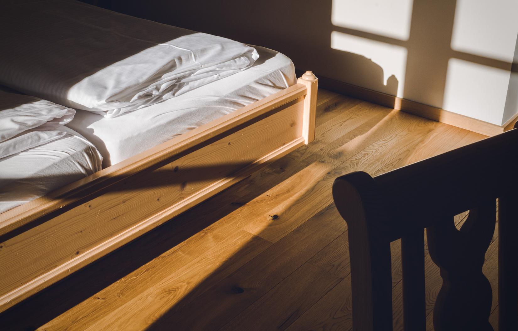 Design Doppelzimmer Individualist. Erholung und entspannter Schlaf im Hotel Huas Jausern in Saalbach
